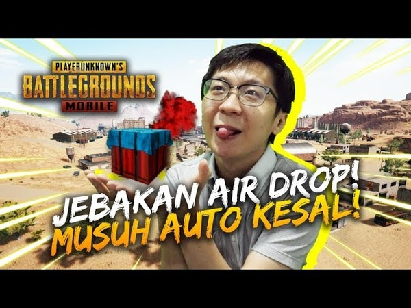 JEBAKAN AIR SUPPLY! MUSUH AUTO NYESAL! - PUBG Mobile Indonesia