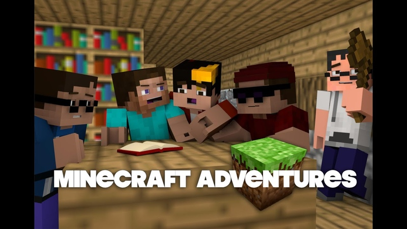 Minecraft Adventures Episode 1 The Beginning (Animation)
