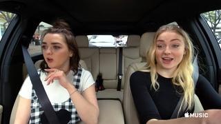 Carpool Karaoke: The Series — Sophie Turner & Maisie Williams Preview — Apple TV app