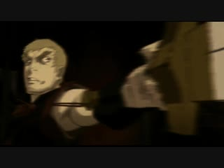 Схватка Нанаши и Ло Лан (Рарон) из аниме «Меч чужака»
