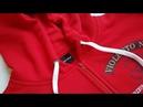 How to sew a zip in a hoodie Jak uszyć ekspres w bluzie z kapturem
