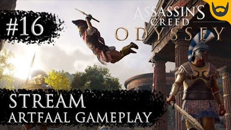 Deja Vu Cтрим Assassin's Creed Odyssey PC 16