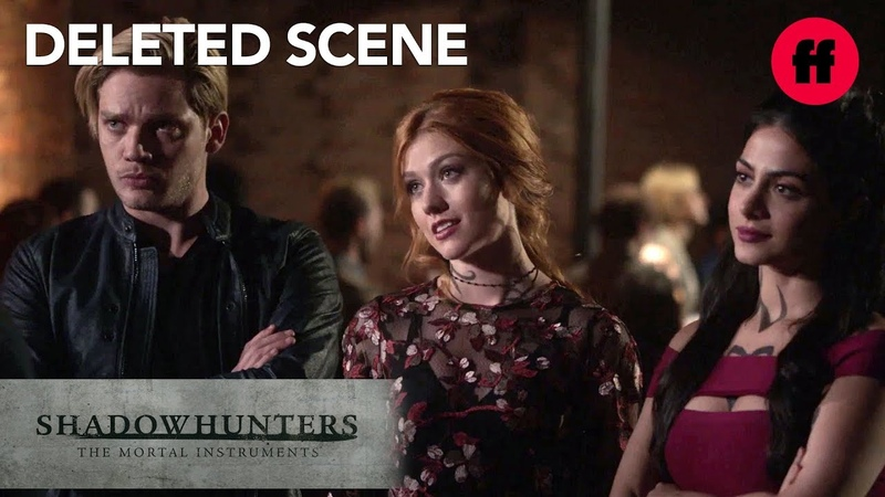 Shadowhunters Season 3 Episode 3 Deleted Scene Clary Jace Izzy Search For The Owl Freeform