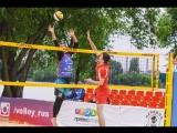 Этап чемпионата России по пляжному волейболу. Запись игр с 1 корта от 9.06.2018