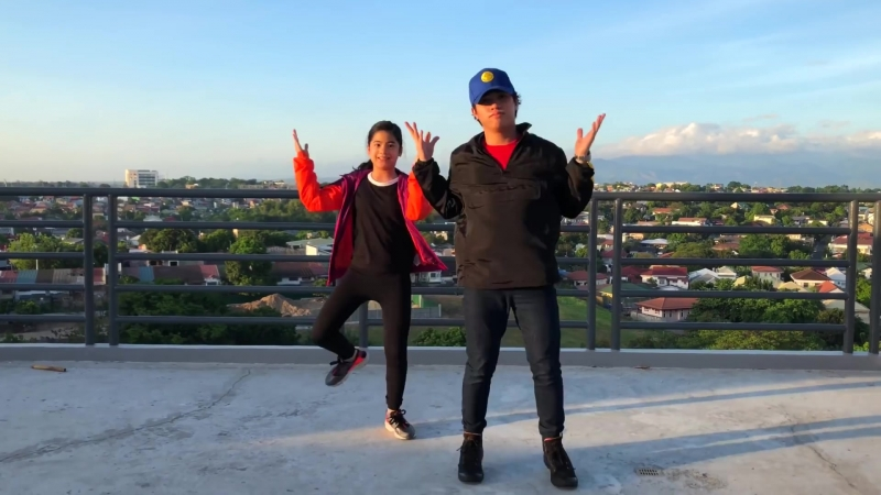 FREAKY FRIDAY - Lil Dicky ft Chris Brown Siblings Dance _ Ranz and Niana