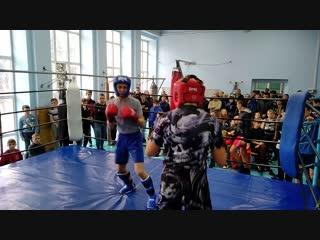 Лунин Максим - Алексеенко Дмитрий раздел кик лайт в.к 57 кг