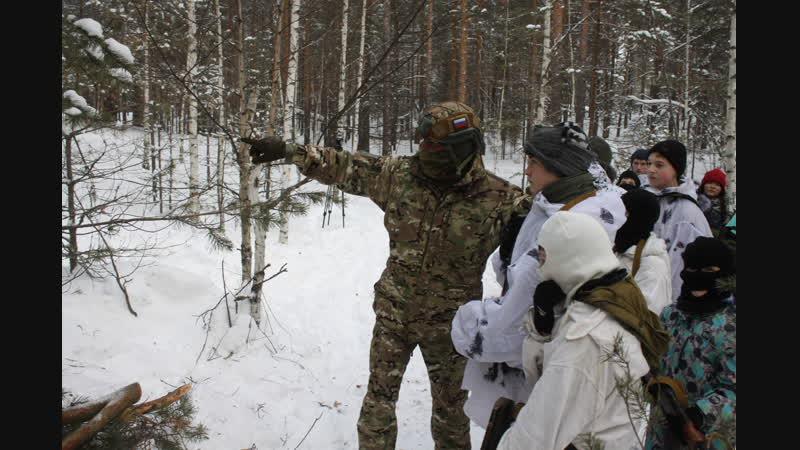 Военно-патриотический сбор Вьюга-2019