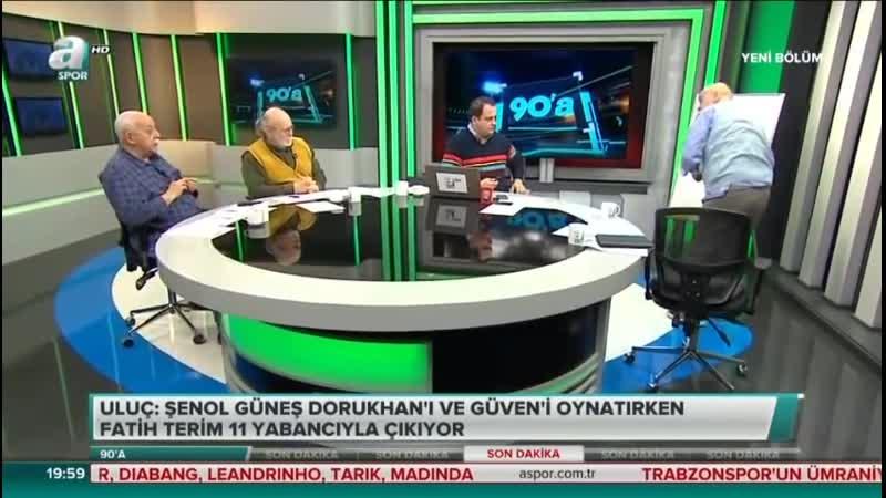 Galatasarayın Yabancı Dolu Maç Kadrosuna Hıncal Uluçtan İsyan - 90A