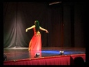 Davinia Iñesta dancing to Habibi Ya Omri Amr Diab at Helwa Show 2013