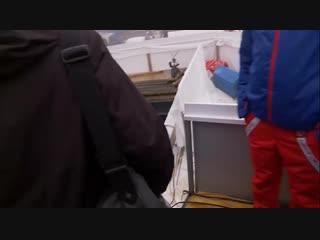 Илья Трифанов и Уле Эйнар Бьорндален в Поклюке (декабрь 2018)