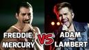 Freddie Mercury Vs Adam Lambert : Vocal Battle (SAME SONG!)