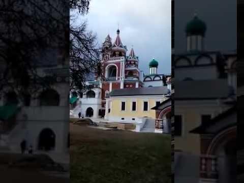 Колокольный звон в Звенигородском Саввино-Сторожевском монастыре