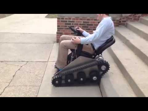 Stair Climbing Power Chair First Try