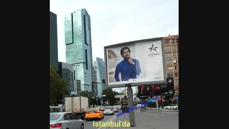"""""""★Τελικά παντού υπάρχει αφίσα του★ Burak Ozçivit⭐Daha fazlası..tekrar tekrar..💫💫💫 @burakozcivit…"""""""