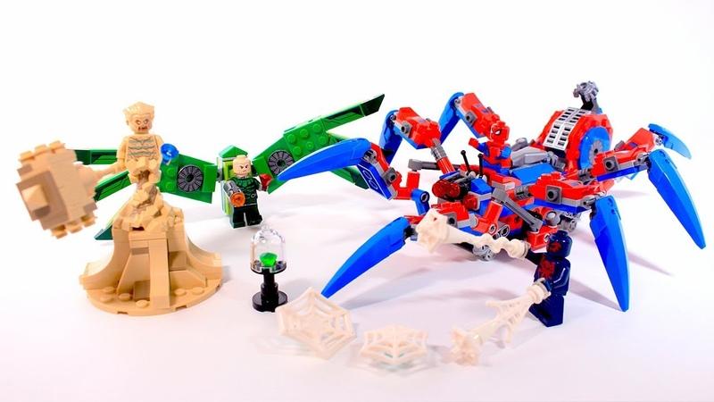 Lego Spider-Man 76114 Spider Crawler Review | Обзор ЛЕГО Человек-Паук 2099 против Стервятника