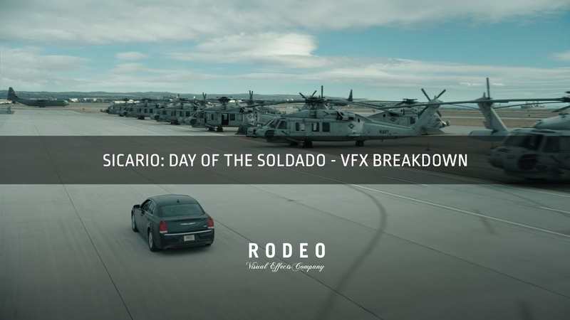 Sicario Day of the Soldado | VFX Breakdown by Rodeo FX
