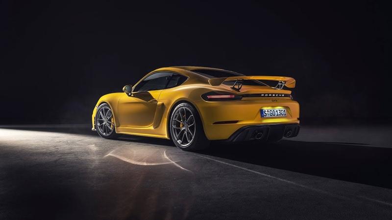The new Porsche 718 GT4