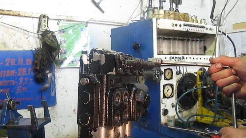Гидрораспределитель Р80-3/1-222 с трактора МТЗ 80 Стогомет. Разборка, Дефектовка.