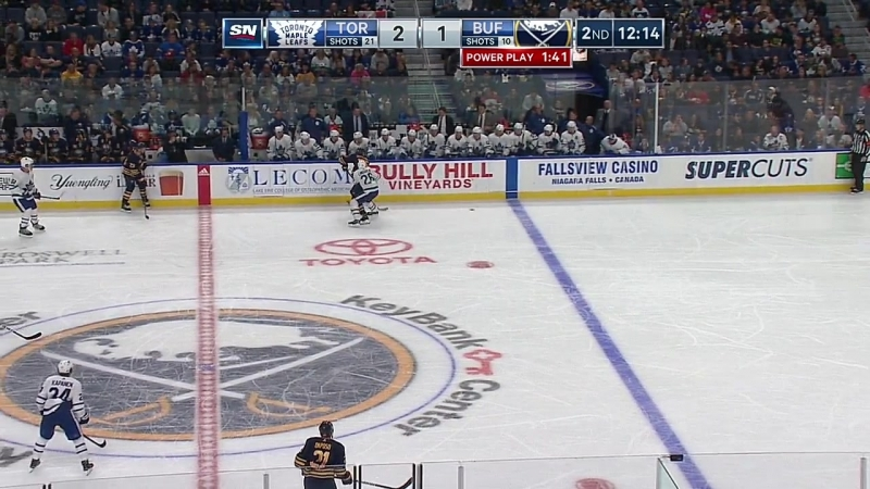 NHL 2018-2019 / PS / 22.09.2018 / Toronto Maple Leafs @ Buffalo Sabres