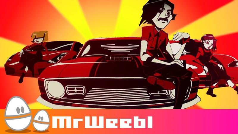 The Driver : Savlonic : animated music video : MrWeebl