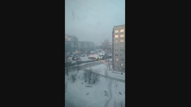 Натура зима