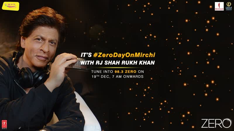 Haa, ye 180 minutes hume zindagi bhar yaad rahenge because King Khan is debuting as a RJ only on Mirchi.