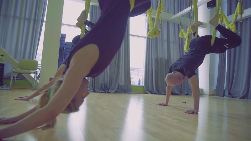 Студия AntiGravity Stretch с Марией Бабайцевой часть 2