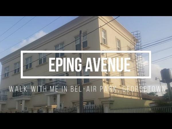 Eping Avenue   Walk with me in Bel Air Park Georgetown