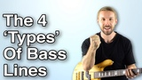 The Only 4 TYPES Of Bass Lines You'll Ever Need To Create