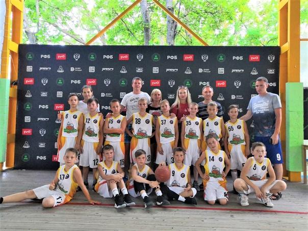 Команда «СШ «Старый соболь»- 2009 заняла 11 место на Всероссийском фестивале по мини-баскетболу