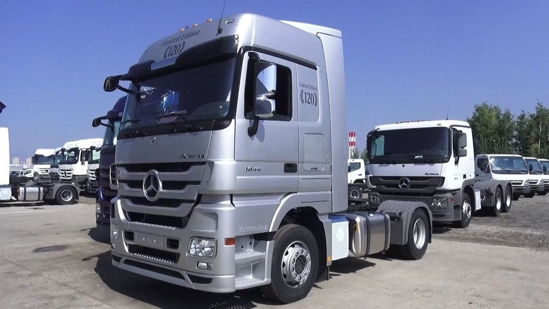 2016 Mercedes-Benz Actros 1844 LS 120 Limited Edition. Обзор (интерьер, экстерьер, двигатель).