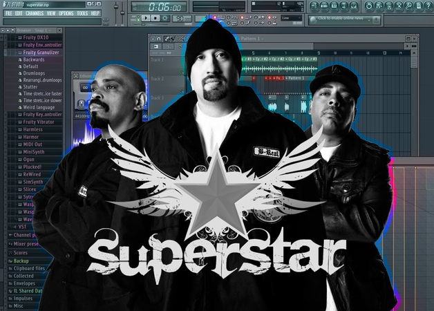 FL Studio 11 - Cypress Hill - (Rock) Superstar Samples Free