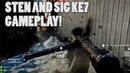 STEN SMG SIG KE7 gameplay from the BFWeekly livestream