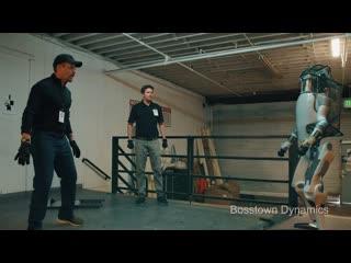 Boston dynamics- new robots now fight back
