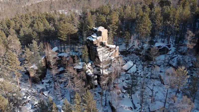 Идол скальник Охтинского плато