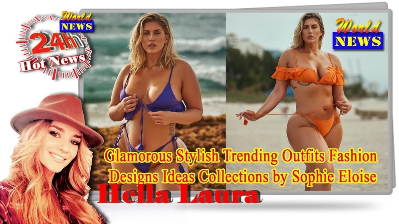 Glamorous Stylish Trending Outfits Fashion Designs Ideas Collections by model Sophie Eloise
