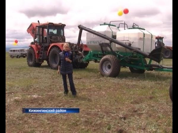 Сельчане Кижингинского района протестировали новую технику