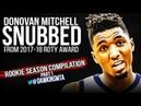 Donovan Mitchell 2017-18 Rookie Season Compilation Part1- SNUBBED! | FreeDawkins