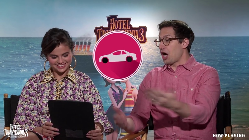 HOTEL TRANSYLVANIA 3 SUMMER VACATION Selena Gomez Andy Samberg Ad Lib