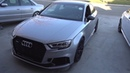 DRAGY Review Big Turbo AUDI RS3 LAUNCHES