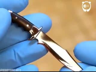 Самодельный нож. Что скажете о работе? - vk.com/bg.remont