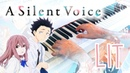 Koe no Katachi Lit Piano