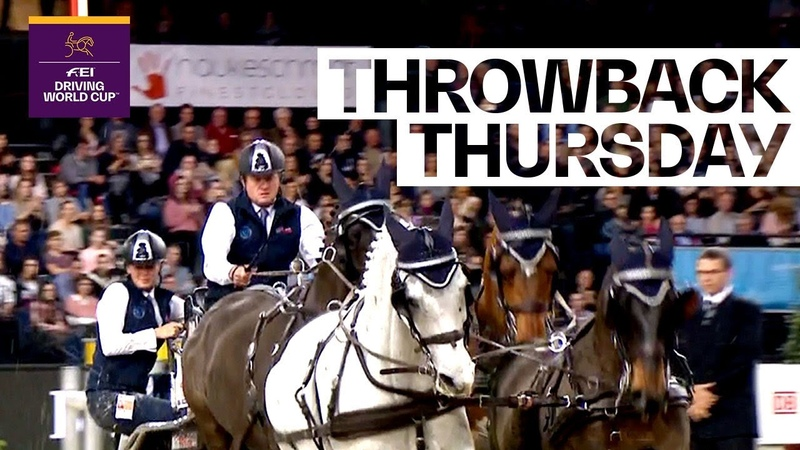 Boyd Exell's start to a brilliant season 2017/18 ThrowbackThursday |FEI Driving World Cup™