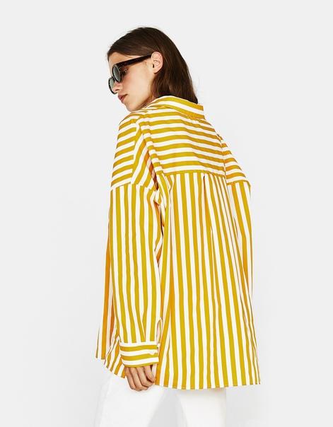 Рубашка из поплина в стиле oversize