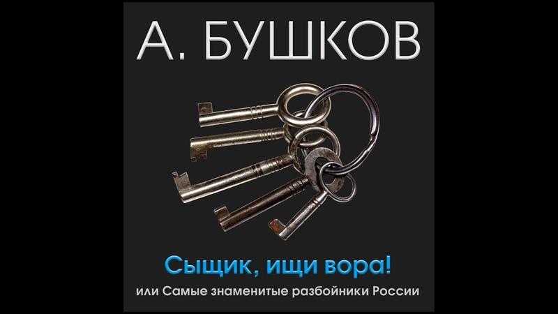 Сыщик , ищи вора! или самые знаменитые разбойники России. Бушков А. Аудиокнига . читает А.Клюквин