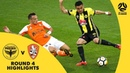 Hyundai A-League 2017/18 Round 4: Wellington Phoenix 3 - 3 Brisbane Roar