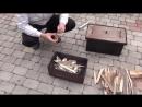 Коптильня горячего копчения - правильно коптим подчеревок,ребра,птицу, смотрим. коптильня