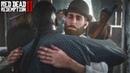 Red Dead Redemption 2 Артур возвращается к банде Милтон с пинкертонами нападают на лагерь Мимолетная радость