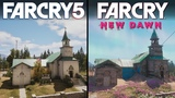 Far Cry New Dawn vs Far Cry 5 Direct Comparison