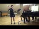 Корякина Мария Сергеевна Соната для флейты и фортепиано До мажор 3 часть Отар Тактатишвили